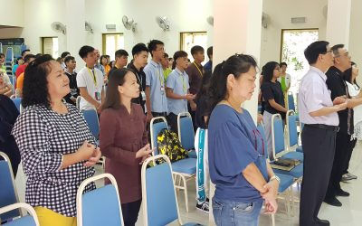 13.2.2020 STS Chapel Time and OP (Organisasi Pelajar) Group Photos with Dean and Associate Dean of Students