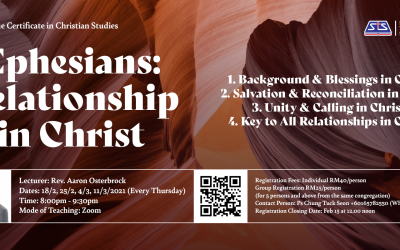 Ephesians: Relationship in Christ (Online Course)